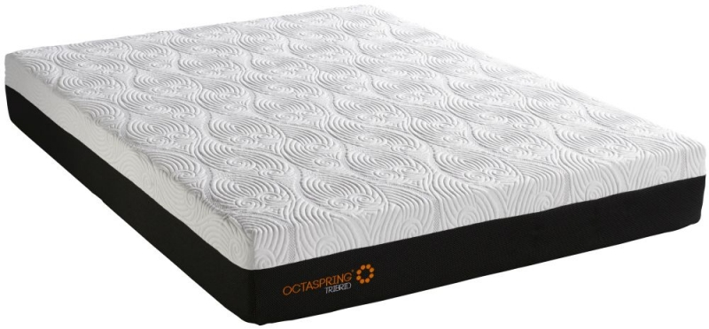 Dormeo Octaspring Tiffany Brown Sugar Fabric Divan Bed with Hybrid Mattress
