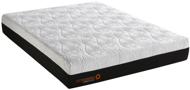 Dormeo Octaspring Tiffany Brown Sugar Fabric Divan Bed with Hybrid Plus Mattress