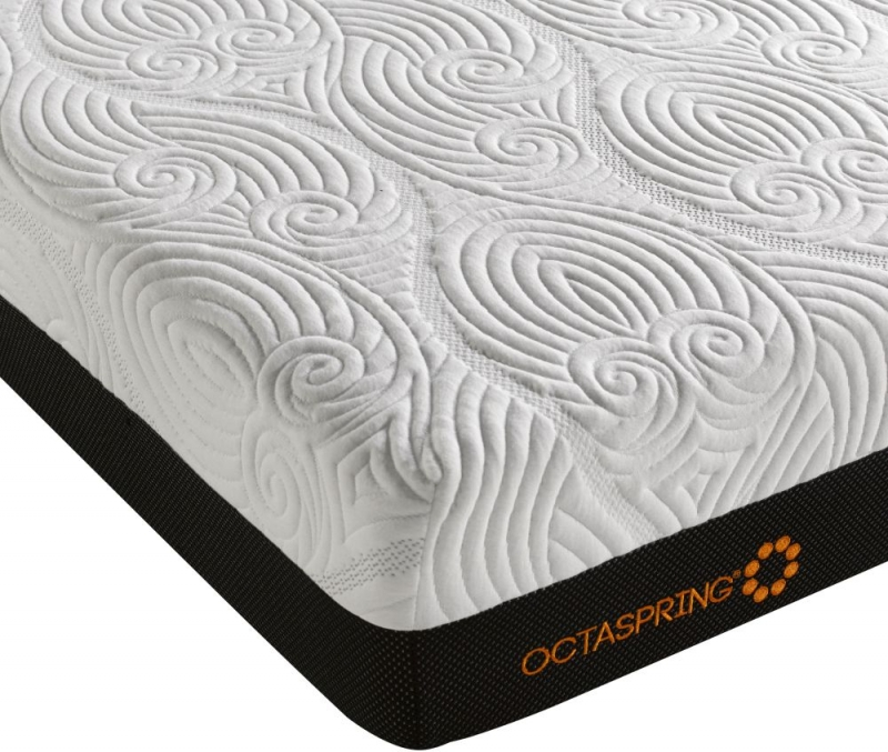 Dormeo Octaspring Tiffany Fabric Divan Bed with 6500 Mattress