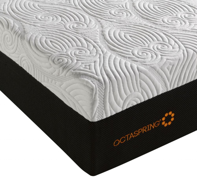 Dormeo Octaspring Tiffany Fabric Divan Bed with 9500 Mattress