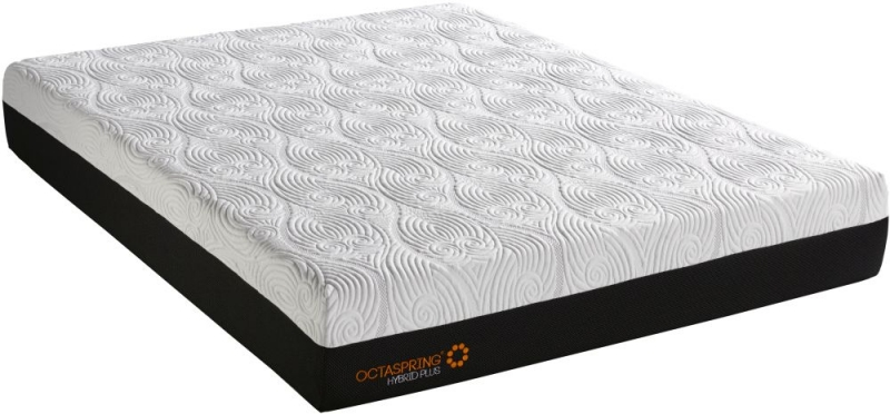 Dormeo Octaspring Venice Fabric Divan Bed with Hybrid Plus Mattress