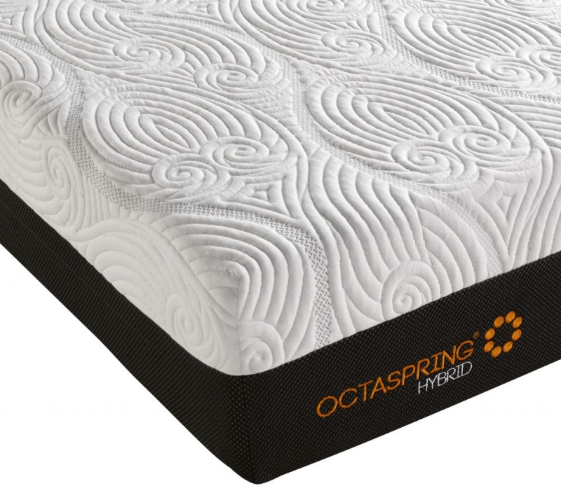 Dormeo Octaspring Roma Fabric Divan Bed with Hybrid Mattress