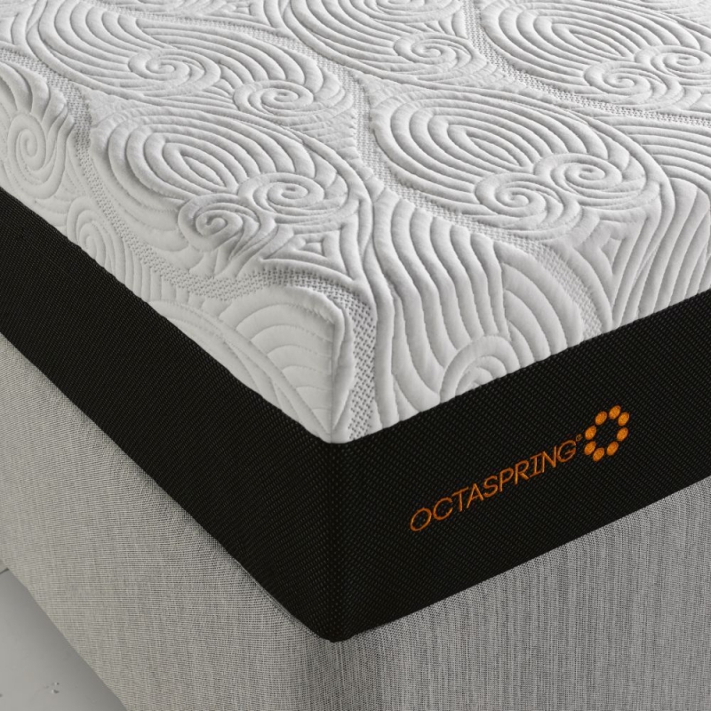 Dormeo Octaspring Roma Fabric Divan Bed with 8500 Mattress