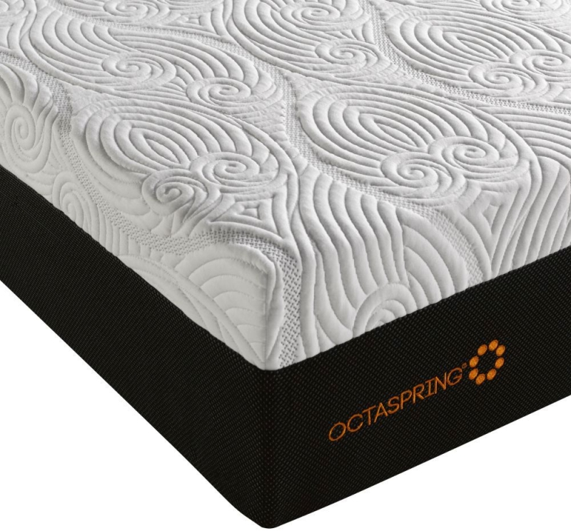 Dormeo Octaspring Loire Fabric Divan Bed with 8500 Mattress