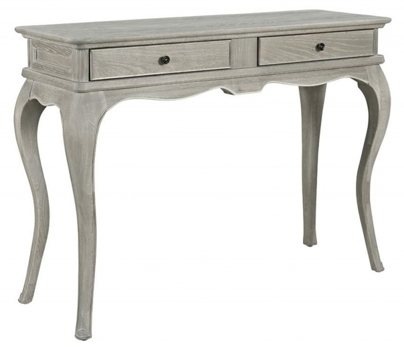 Willis and Gambier Camille Oak 2 Drawer Dressing Table