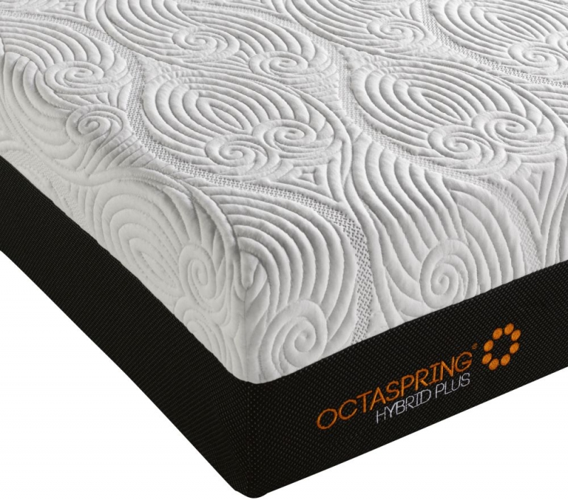 Dormeo Octaspring Tiffany Ottoman Fabric Divan Bed with Hybrid Plus Mattress