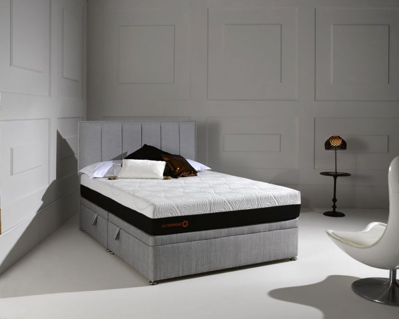 Dormeo Octaspring Ottoman Fabric Divan Bed with 8000 Mattress