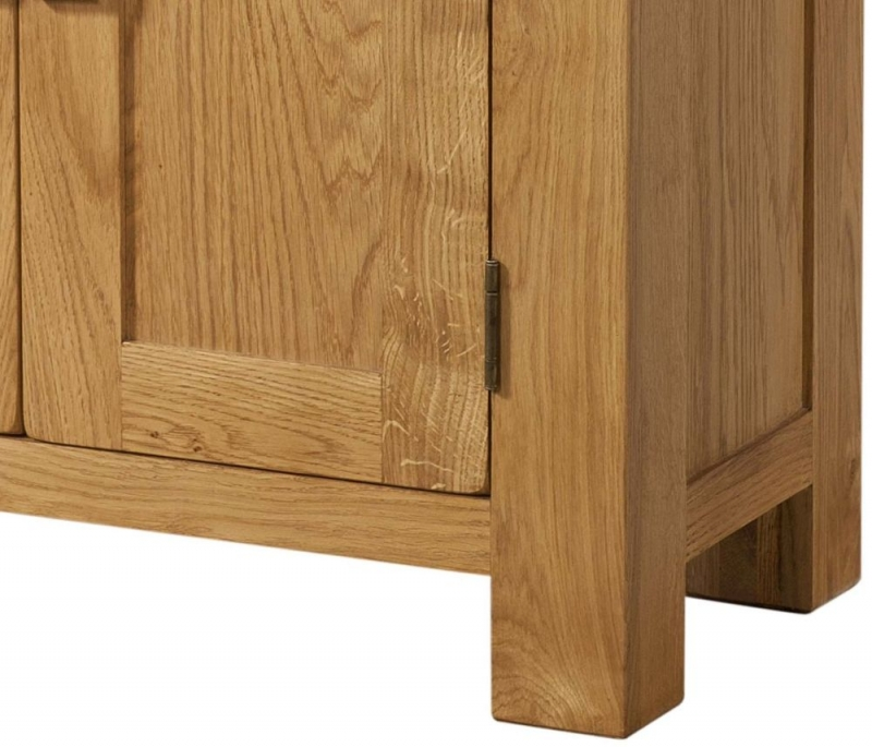 Avon Oak 2 Door Small Cabinet