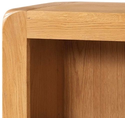 Devonshire Avon Oak Bookcase - 2 Drawer