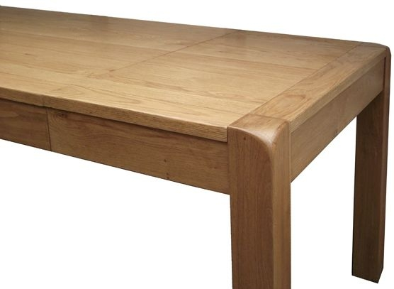 Devonshire Avon Oak Dining Table - Small Extending