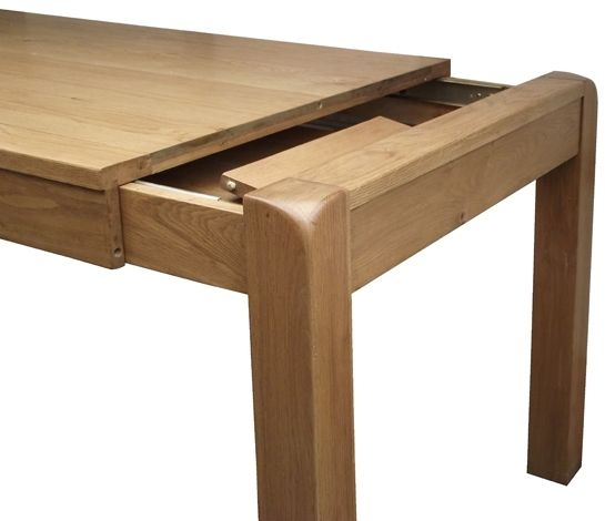 Buy devonshire avon oak dining table small extending for P furniture and design avon