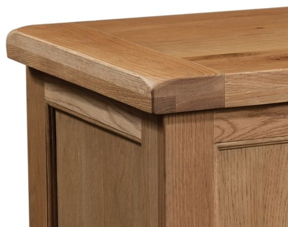Devonshire Somerset Oak Blanket Box