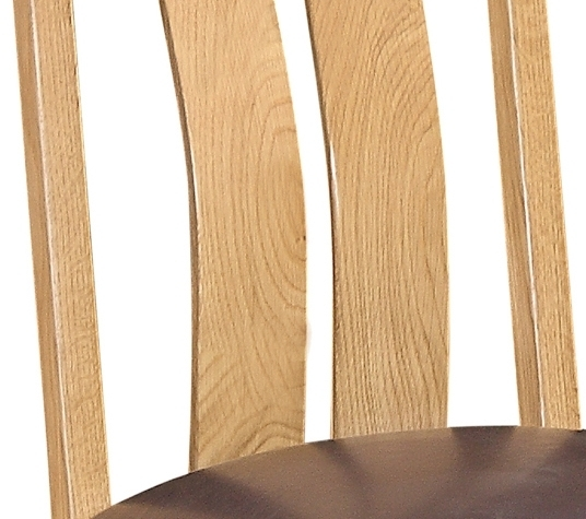 Devonshire Dorset Oak Arizona Dining Chair (Pair)