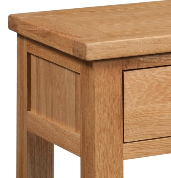 Devonshire Dorset Oak Side Table - 1 Drawer