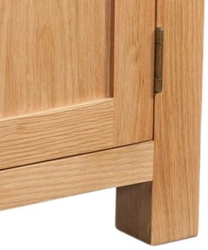 Devonshire Dorset Oak Sideboard - 2 Door 2 Drawer