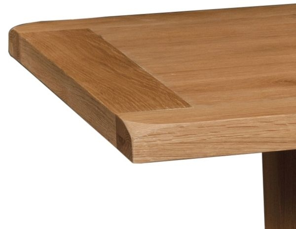 Devonshire Somerset Oak Dining Table with 2 Leaf
