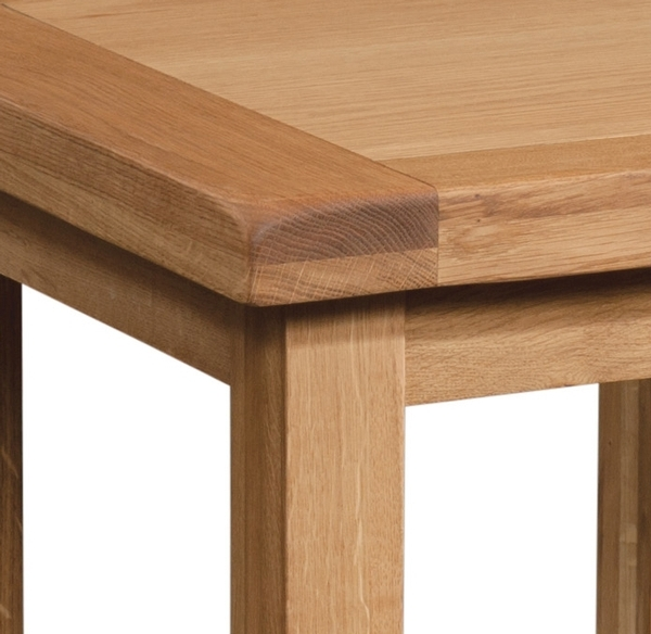 Devonshire Somerset Oak Lamp Table
