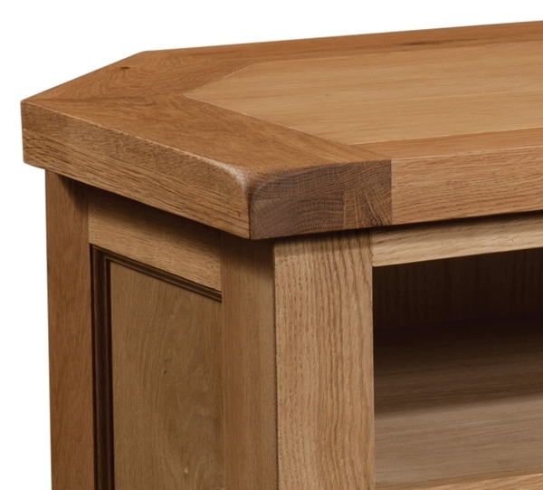 Devonshire Somerset Oak TV Unit - Corner