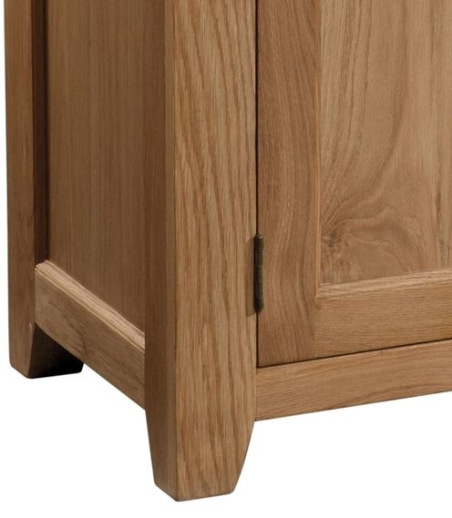 Devonshire Somerset Oak Sideboard - 3 Door and 3 Drawer