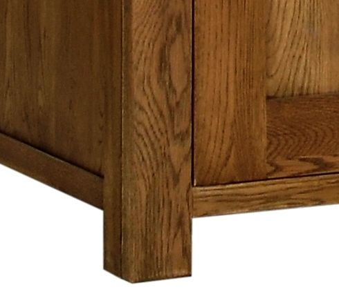 Devonshire Rustic Oak Wardrobe - Single