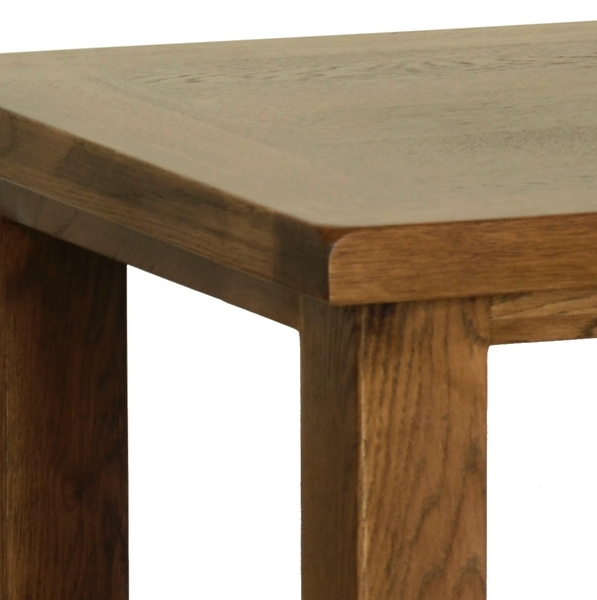 Devonshire Rustic Oak Coffee Table - Small