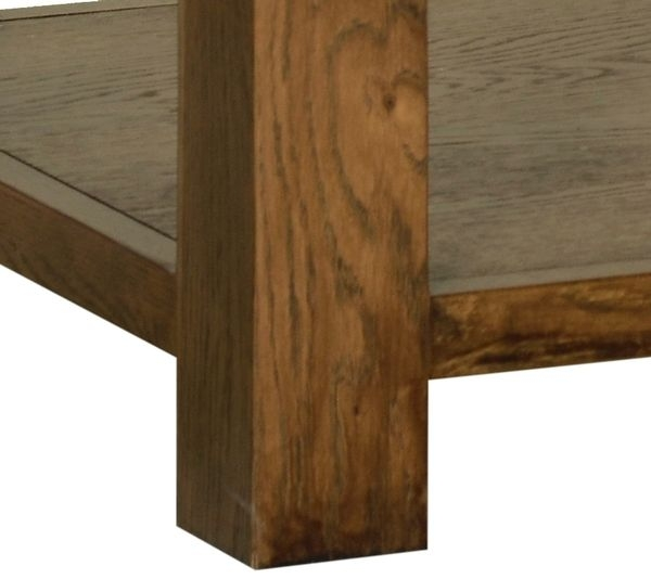Devonshire Rustic Oak Coffee Table - Medium