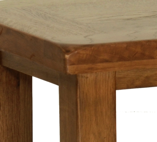 Devonshire Rustic Oak Side Table