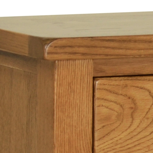 Devonshire Rustic Oak Sideboard - Small