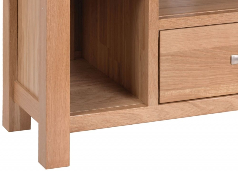 Devonshire New Oak Corner TV Cabinet