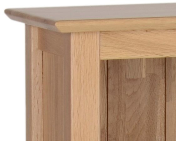 Devonshire New Oak Bookcase - Medium Narrow