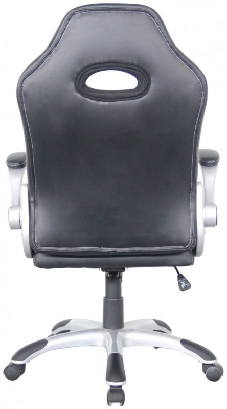 Alphason Talladega Black and Red Faux Leather Office Chair AOC8211R