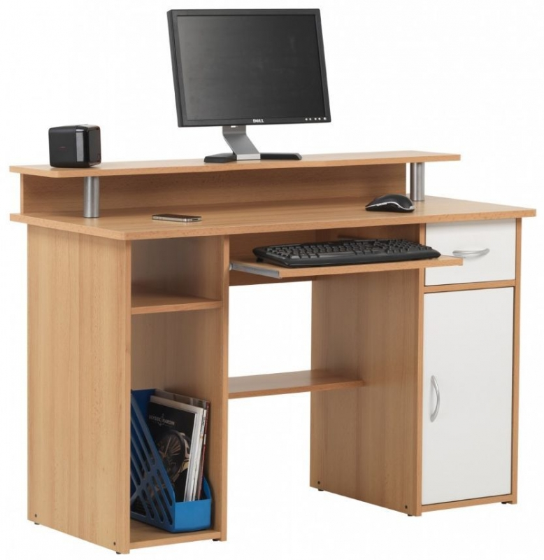 Alphason Albany Beech Workcentre AW12362-BC