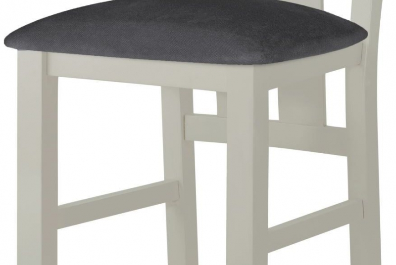 Portland Stone Painted Dining Chair (Pair)