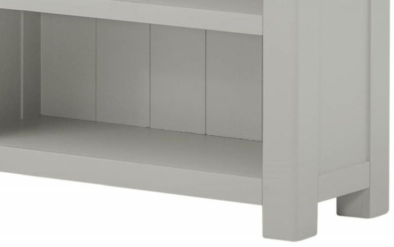 Portland Stone Painted Small Bookcase