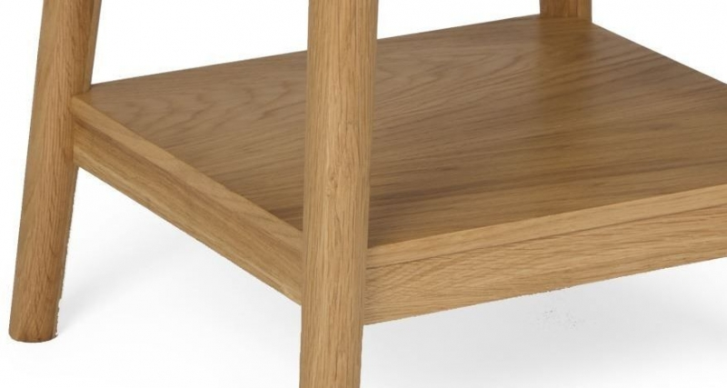 Malmo Oak Lamp Table