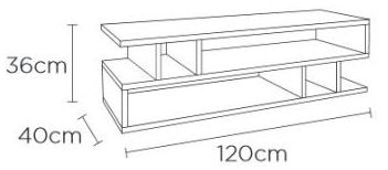 Content by Terence Conran Counter Balance Oak and Charcoal Coffee Table