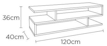 Content by Terence Conran Balance White Storage Coffee Table