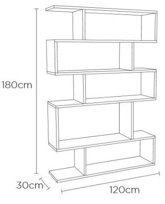 Content by Terence Conran Balance Charcoal Storage Tall Shelving Unit
