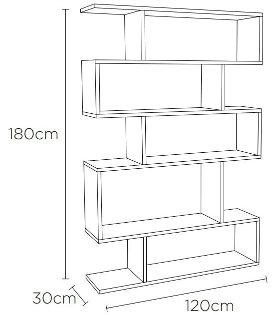 Content by Terence Conran Balance Walnut Tall Shelving Unit