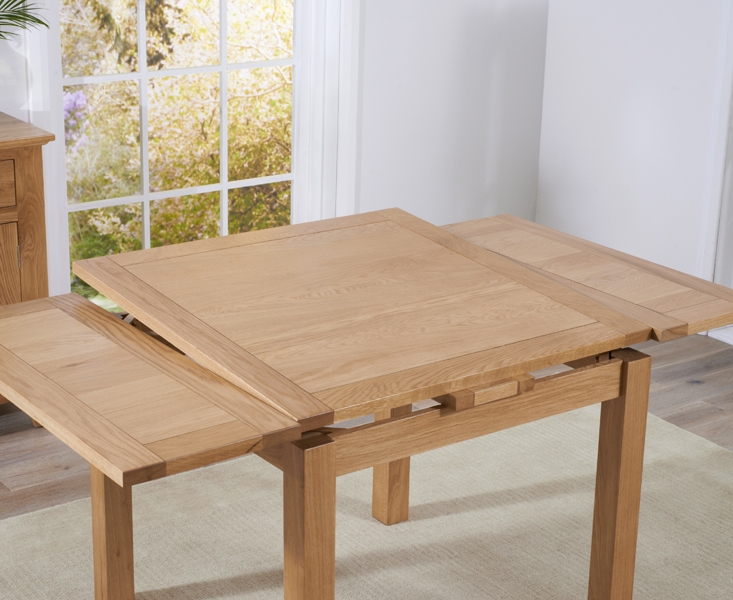 Mark Harris Cambridge Solid Oak 90cm Extending Dining Table