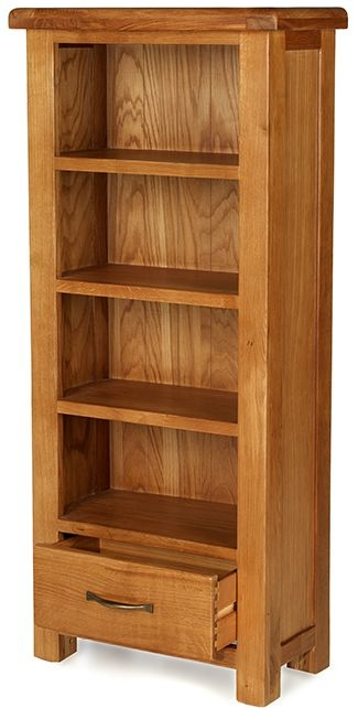 Arles Oak Petite CD and DVD Cabinet