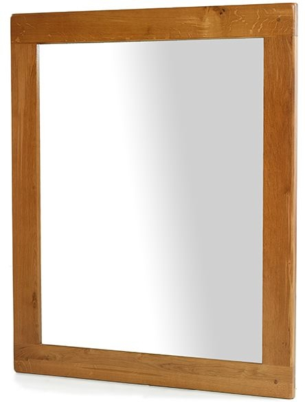 Arles Oak Large Wall Mirror