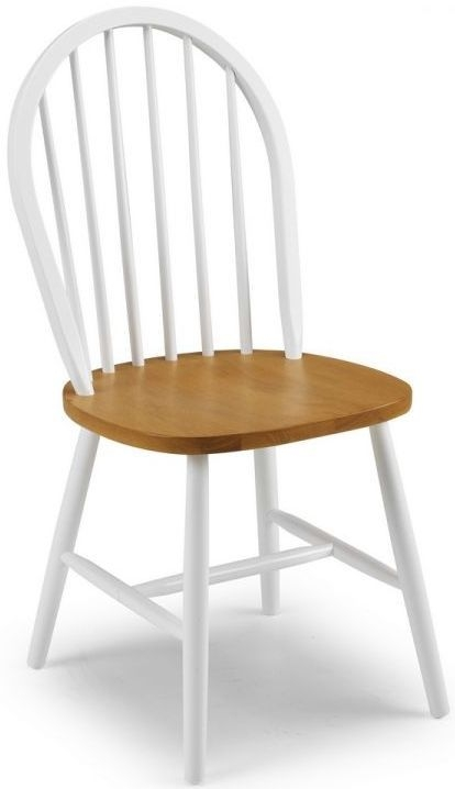 Julian Bowen Oslo Oak Dining Chair (Pair)