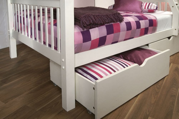 Limelight Pavo White High Sleeper Bed