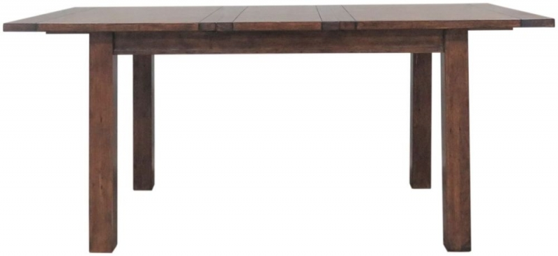 Driftwood Reclaimed Pine Extending Dining Table - Small