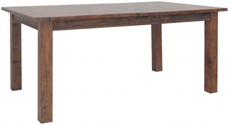 Driftwood Reclaimed Pine Extending Dining Table - Large