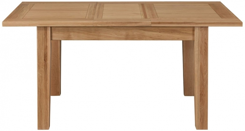Colorado Oak Extending Dining Table - Small