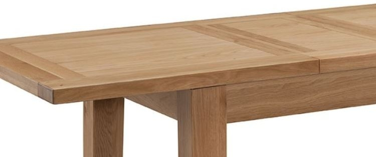 Colorado Oak Extending Dining Table - Large