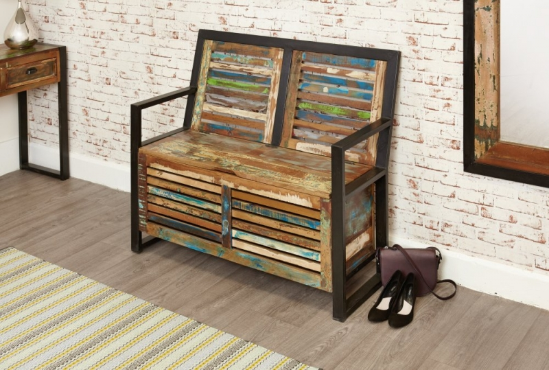 Baumhaus Urban Chic Storage Monks Bench