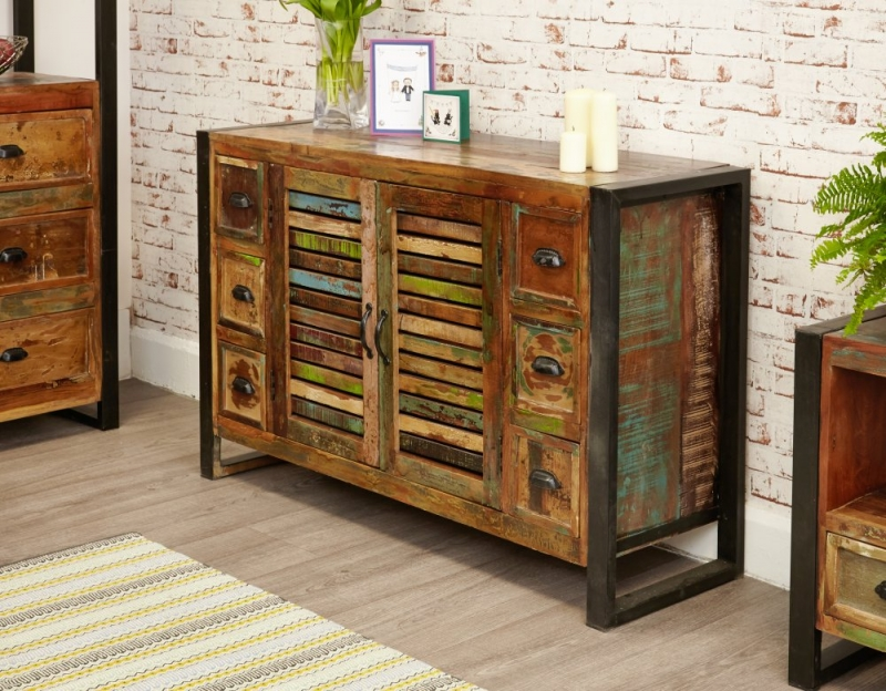 Baumhaus Urban Chic 6 Drawer Sideboard